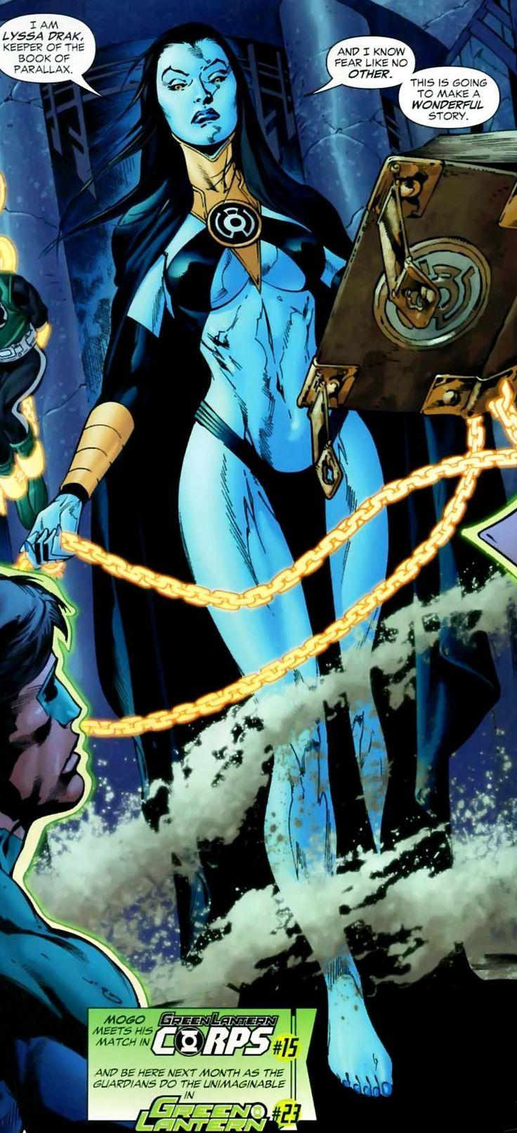 Lyssa Drak - Green Lantern Wiki - DC Comics, Hal Jordan, Green Lantern Corps