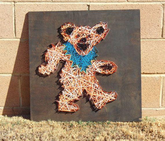inserzione di Etsy su https://www.etsy.com/it/listing/178636148/morti-riconoscenti-dancing-bear-arte
