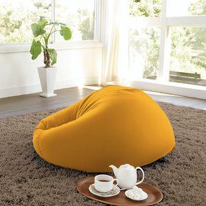 自分のくつろぎスタイルにソファが合わせてくれる、座り心地抜群のビーズクッションです。包まれてみたい!