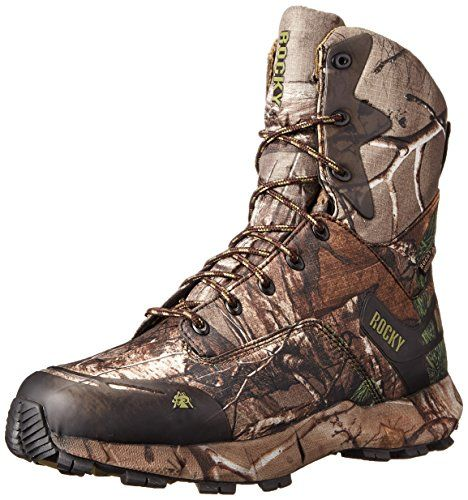 Rocky Men's 8 Inch Broadhead 400G Hunting Boot, Realtree Extra, 12 M US >>> Check this awesome product by going to the link at the image.