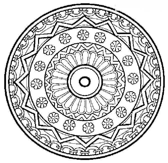 Design a collection of ideas to try about art tibetan for Tibetan mandala coloring pages