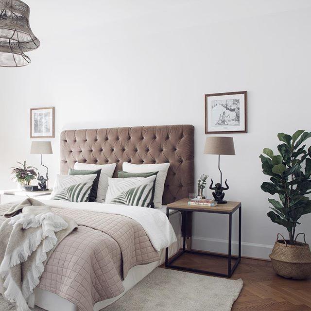 Tone-on-tone bedroom!