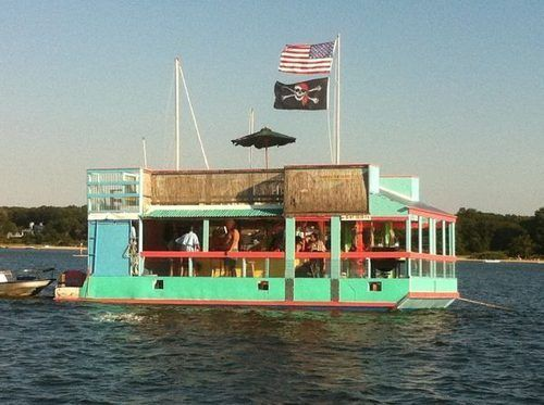 The 'Boat Party' Barge Is For Sale - Boat Party - Curbed Hamptons