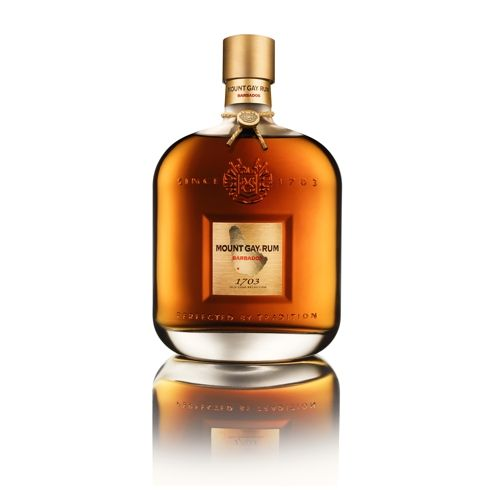 Just from one look you can tell that this is a very special limited release rum. It's a blend of finest Mount Gay Rums, ranging from ten to thirty years of age that have been aged in caskets that had once been used for bourbon. It's taste has been described as Cognac like, with a silken texture. You should also notice hints of tropical fruits. Mount Gay 1703 Old Cask Selection Rum is a fine sipping Rum, not to be used in cocktails so enjoy it neat or with one or two cubes of ice.