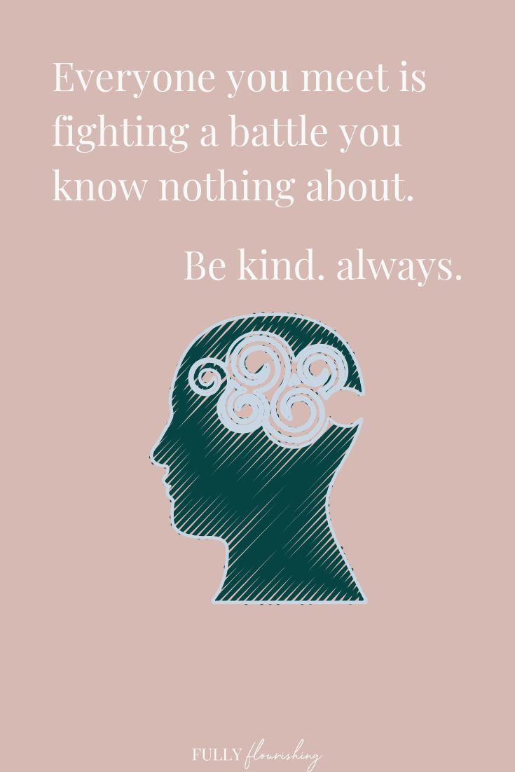 Mental health quotes awareness ideas