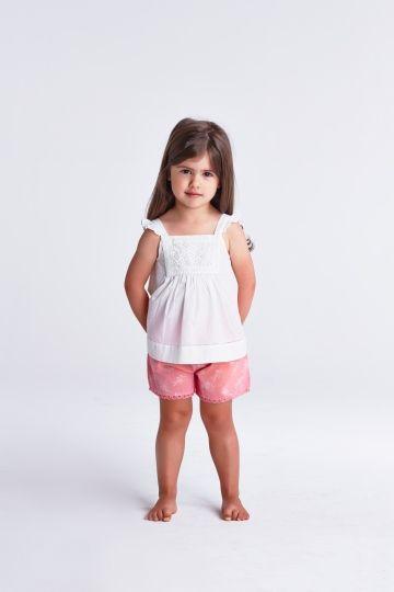 Wild daisy shorts