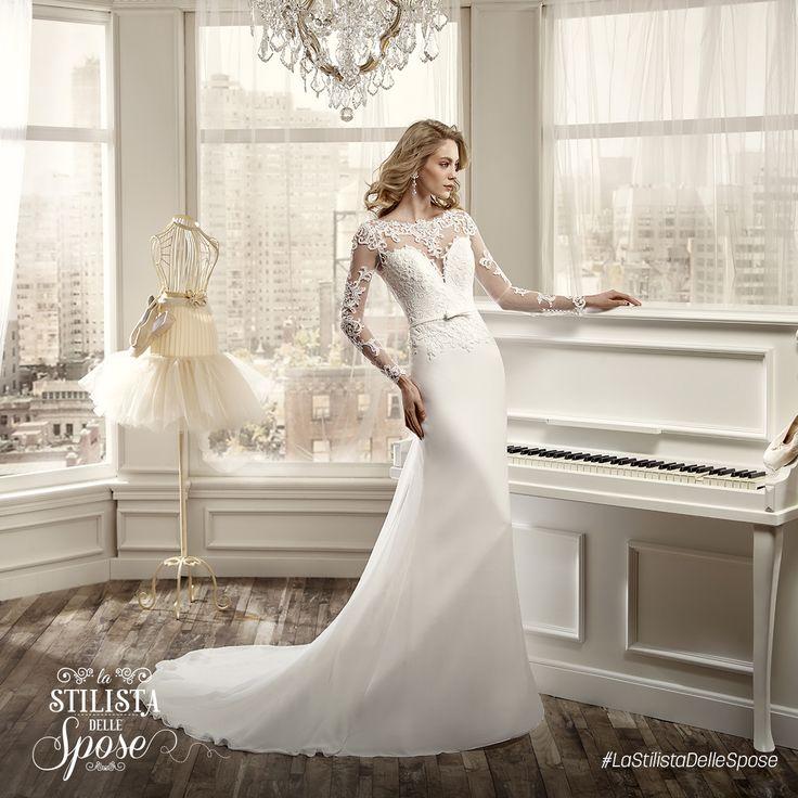 Episodio 1 - L'abito maniche lunghe indossato da Alina, una dolcissima sposa-mamma! Wedding Nicole long sleeves dress 2016 collection. http://www.nicolespose.it/it/abito-da-sposa-Nicole--NIAB16110-2016  #Nicole #collection #nicolespose #alessandrarinaudo #wedding #abitidasposa #bianco #white #weddingdress #sposa #bride #brides #bridal #LaStilistaDelleSpose #realtime
