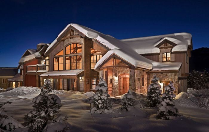 Ski Lodge Decorating Ideas Luxury Ski Chalet Near