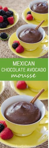 awesome Mexican Chocolate Avocado Mousse