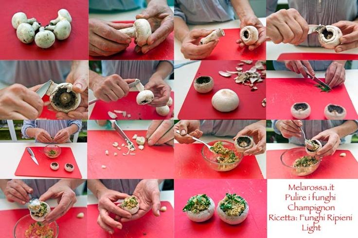 Scopri come pulire i funghi champignon e prova una gustosa ricetta light per cucinarli!