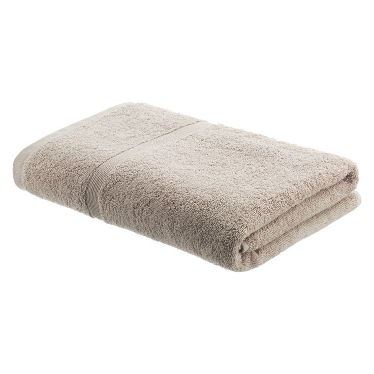 EGYPTIAN COTTON Neutral bath towel