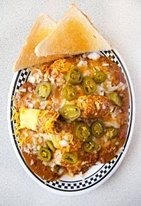 Courtesy Diner's (St. Louis) Slinger
