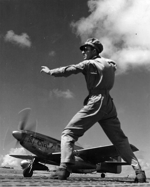 """""""A 457th Fighter Squadron North American P-51 nicknamed """"My Girl"""". https://www.pinterest.com/pin/501236633501177243/"""