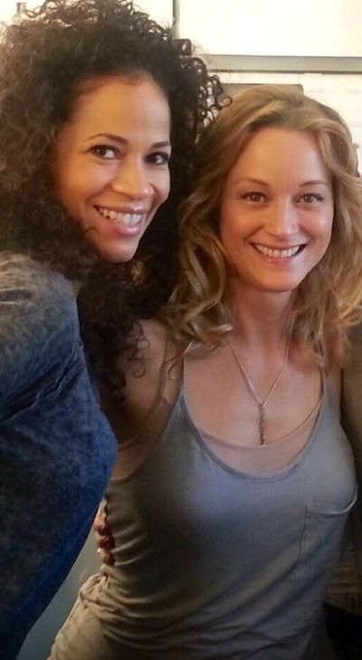 Teri Polo ~ Sherri Saum ~ The Fosters set