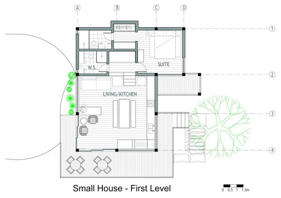 Planos de casa de campo 2
