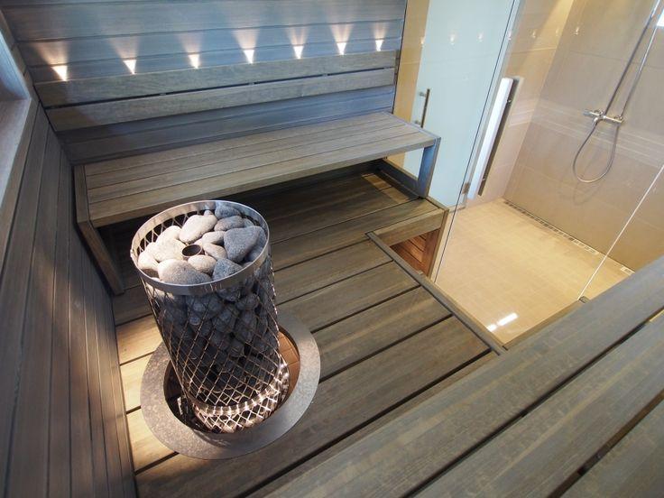 saunan lauteet ja sisustukset