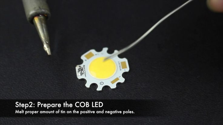LUSTROUS COB LED installation guide. For more details, please contact sales@lustrous.com.tw or visit www.lustrous.com.tw