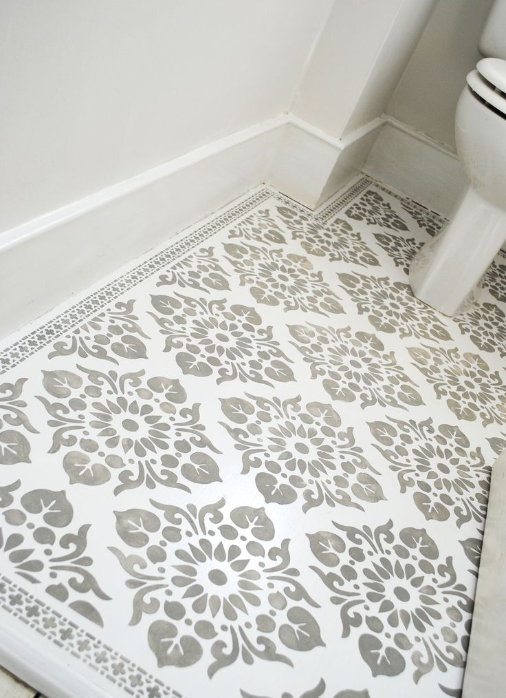 Floor Stencilled With The Kota And Neemrana Stencils