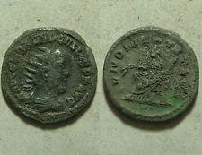 Rare Ancient Roman Billon coin Philip I, the Arab; AD 244 Antoninianus Juno/Ivno