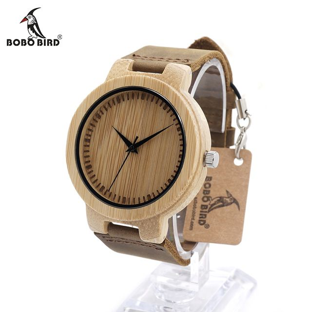 Promotion price BOBO BIRD D13 Men's Design Brand Luxury Wooden Bamboo Watches With Real Leather Japan Quartz Movement Watch for Men in Gift Box just only $26.99 with free shipping worldwide  #menwatches Plese click on picture to see our special price for you