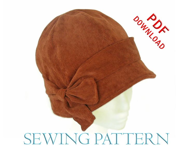SEWING PATTERN Penny 1920s Twenties Cloche von ElsewhenMillinery