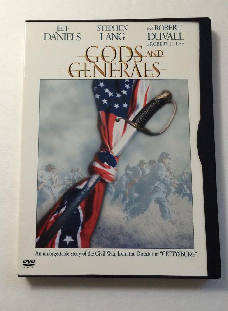 Gods and Generals DVD | eBay