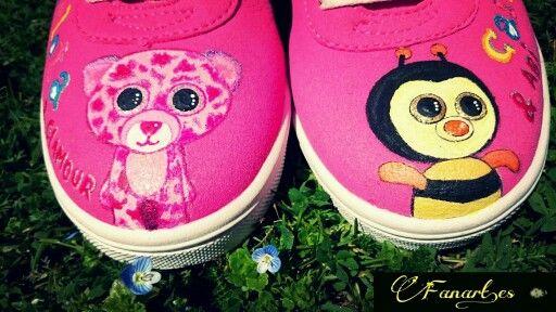 Fanart.es Zapatillas pintadas a mano  www.fanart.es