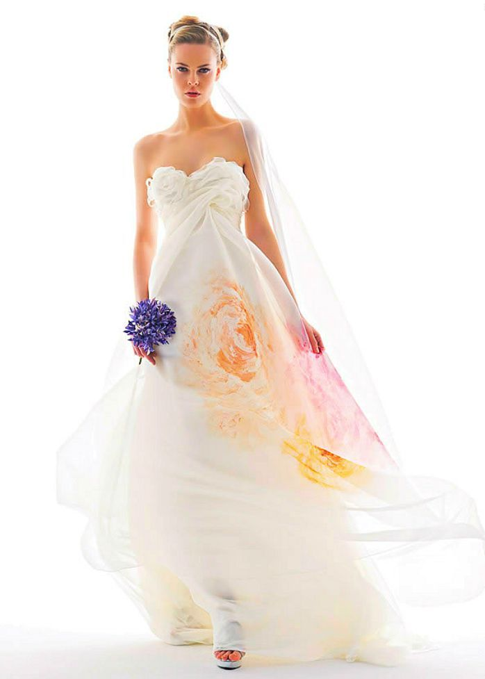 watercolor wedding dress 37 best images about watercolor inspiration on 8368