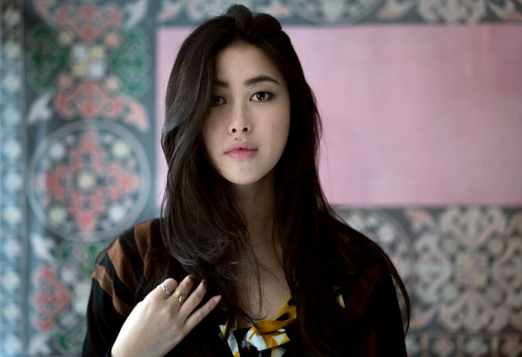 """The Chinese actress Zhu Zhu, who stars as Kokachin, the Blue Princess, in the """"Marco Polo"""" series, shares her simple beauty regime. (Photo: Andrew Testa for The New York Times)"""