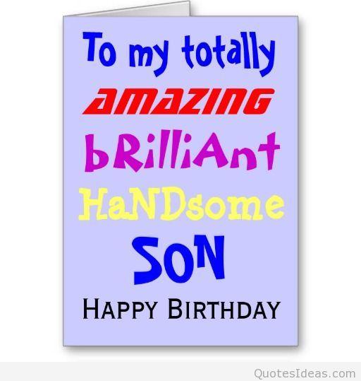 happy birthday son - Google zoeken