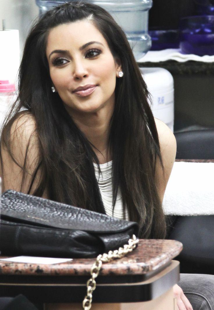 Kim kardashian - clean n neat look