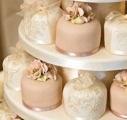 Love these Petite Fours