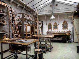 Atelier at the Prinsengracht | Anouk Beerents Antieke Spiegels