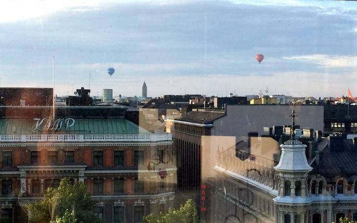 View from Rastaurant Savoy, Helsinki
