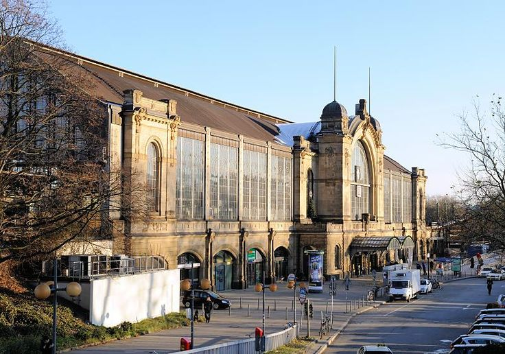 1474 Rückseite des Hamburger Jugendstilbahnhof am Dammtor | Flickr - Photo Sharing!