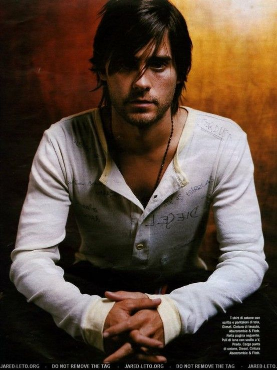 Jared Leto... mysterious chap, but very genuine in show biz...