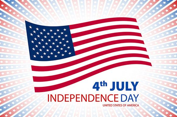 America, 4th of July card by Rommeo79 on @creativemarket