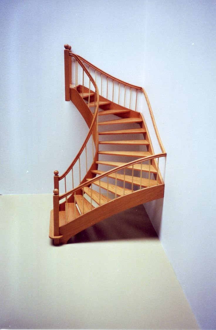 Best Half Spiral Staircase Staircase House Stairs Winding 400 x 300