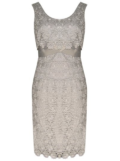 Kaliko Lace Shift Dress, Light grey...i dont even know what shade of grey we're going for anymore lol -____- :)