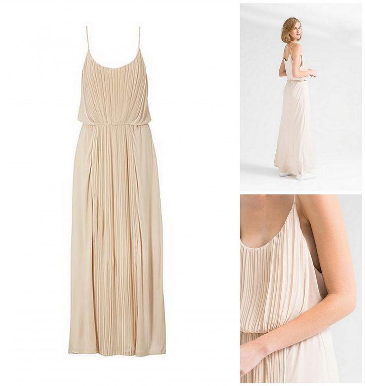 Pastelroze bruidsmeisjes jurk