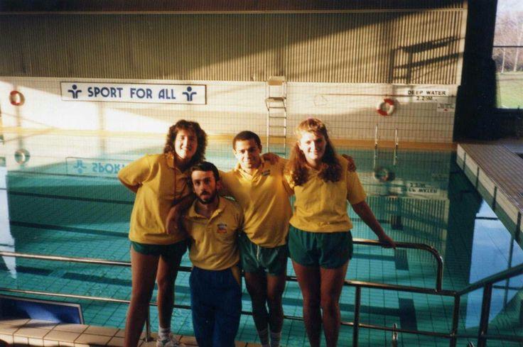 Fulham Pools at White City -  Michel Chauny & Rob Jones