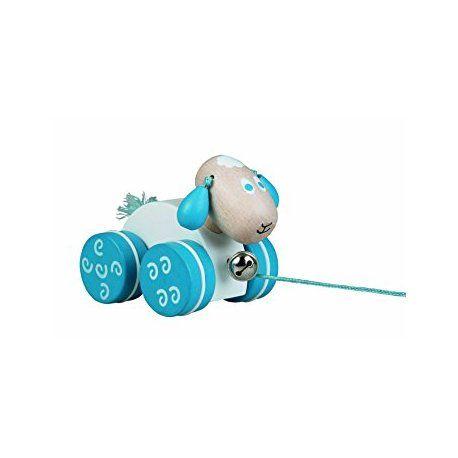 Witajcie w poniedziałek:)    Śliczna owieczka z drewna na sznureczku Detoa 13565 dla dzieci od 12 miesięcy - idealna zabawka na wspólne spacery.    Owieczka ma dodatkowo dzwoneczek, wesoło dyndające drewniane uszka oraz włochaty ogonek.    Kolorystyka jak na zdjęciu: biało-niebieska    http://www.niczchin.pl/drewniane-zabawki-do-pchania-ciagniecia/4327-detoa-13565-drewniana-owieczka-do-ciagniecia.html    #detoa #owieczkazdrewna #owieczkazabawka #niczchin #kraków