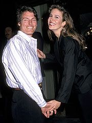 """Christopher and Dana Reeve.  """"Once you choose hope, anything's possible.""""  -Christopher Reeve"""