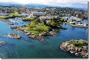 Esquimalt Shoreline, Vancouver Island BC