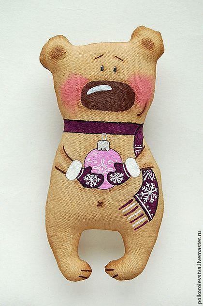 Ароматизированные куклы ручной работы. Ярмарка Мастеров - ручная работа Новогодние мишки. Handmade.