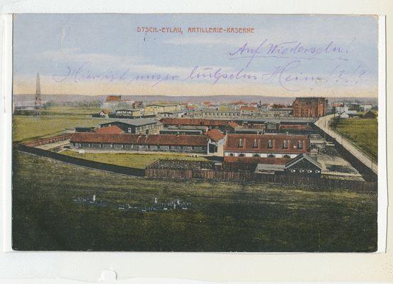 Deutsch Eylau, Artillerie Kaserne