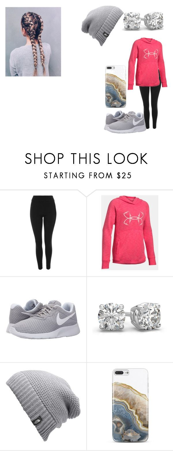 """Flying to Mexico today"" by bethecaptain on Polyvore featuring Topshop, NIKE, The North Face and Nanette Lepore"