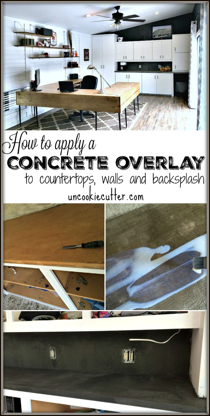 Concrete Overlay Countertops Diy 46 Best Designing With Concrete Images On Pinterest Concrete