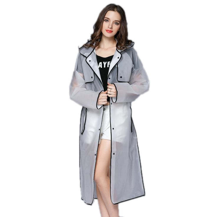 Raincoats Picture - More Detailed Picture about EVA Transparent Raincoat Hooded Women Rain Coat Long Jacket Waterproof Rain Poncho Outdoor Rainwear 4 Colors Picture in Raincoats from Clear View Trading Co.,Ltd | Aliexpress.com | Alibaba Group