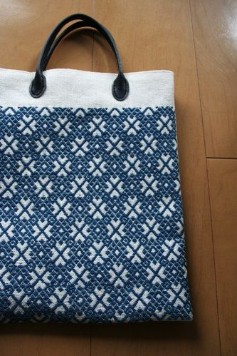 kogin embroidery tote